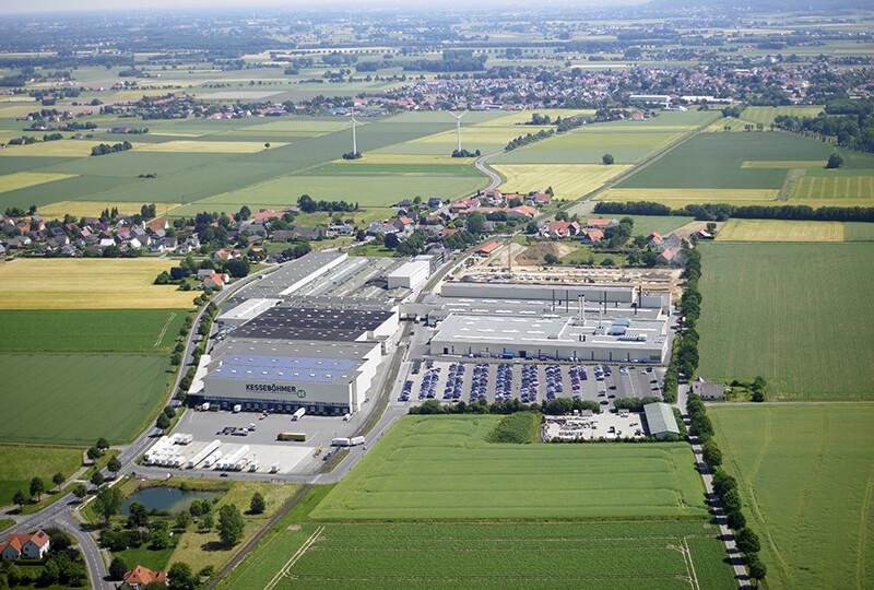 Luftbild Betriebsgelände Kesseböhmer Dahlinghausen