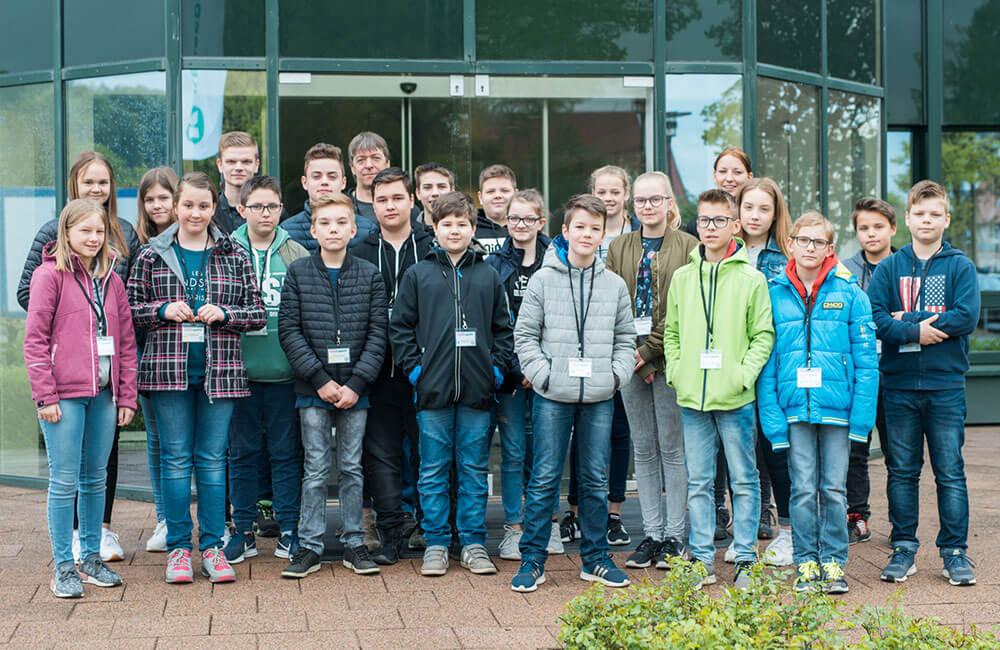 20 Schüler bei Kesseböhmer