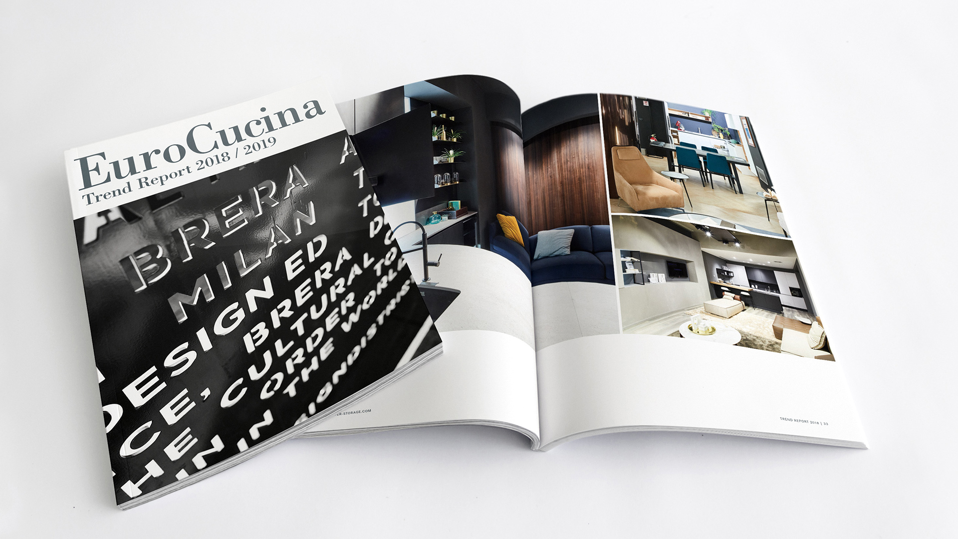 Trendreport EuroCucina 2018/2019: Kesseböhmer documents the future of the kitchen