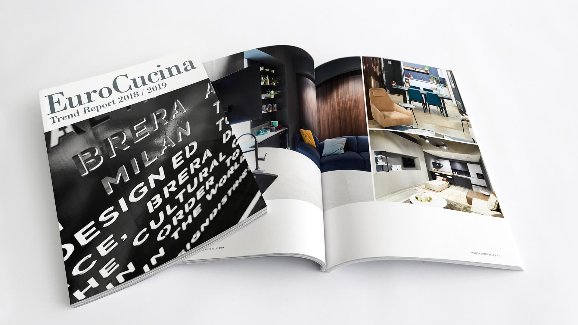 Trendreport EuroCucina 2018/2019: Kesseböhmer dokumentiert die Zukunft der Küche
