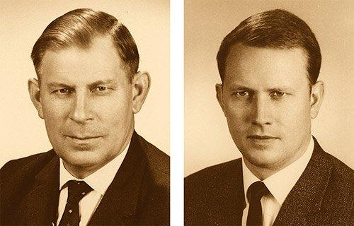 Josef und Sohn Heinrich J. Kesseböhmer