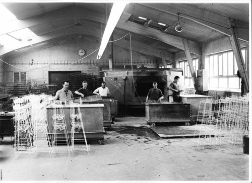 Kunststoffbeschichtung 1962