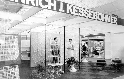 Kesseböhmer auf der Interzum 1969