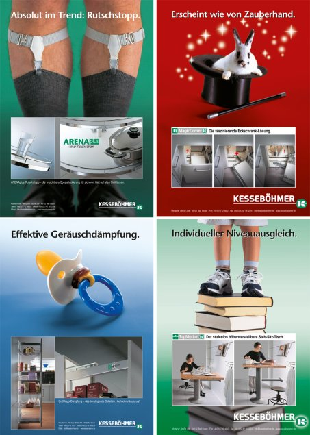 Kesseböhmer Werbung 2004