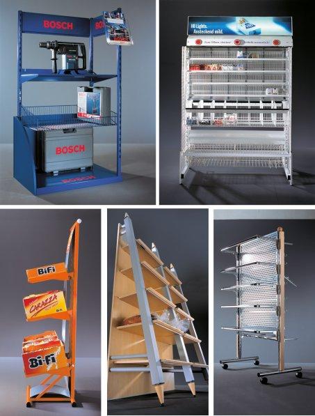 Warenpräsentationssysteme im Jahr 2006