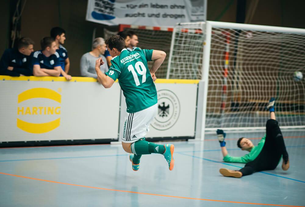 Azubi Cup 2018 Torschuß