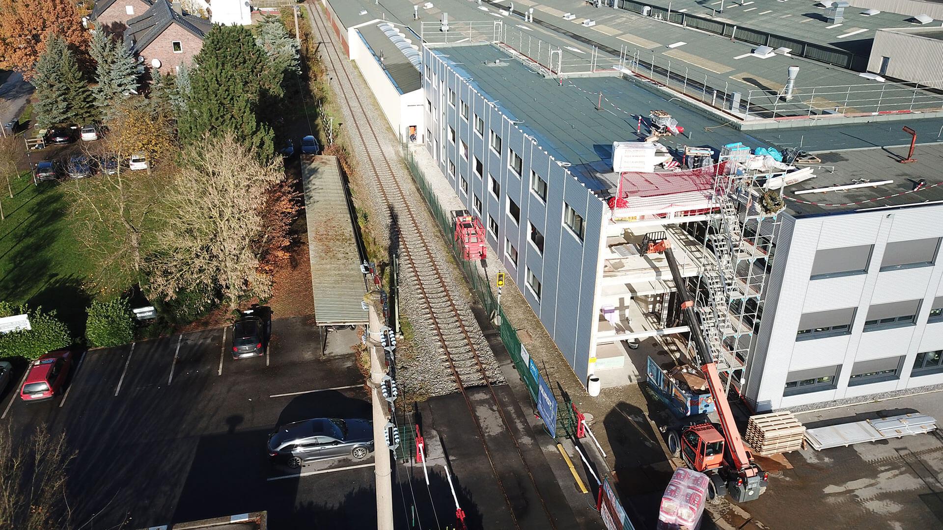 Neues Verwaltungsgebäude in Bohmte