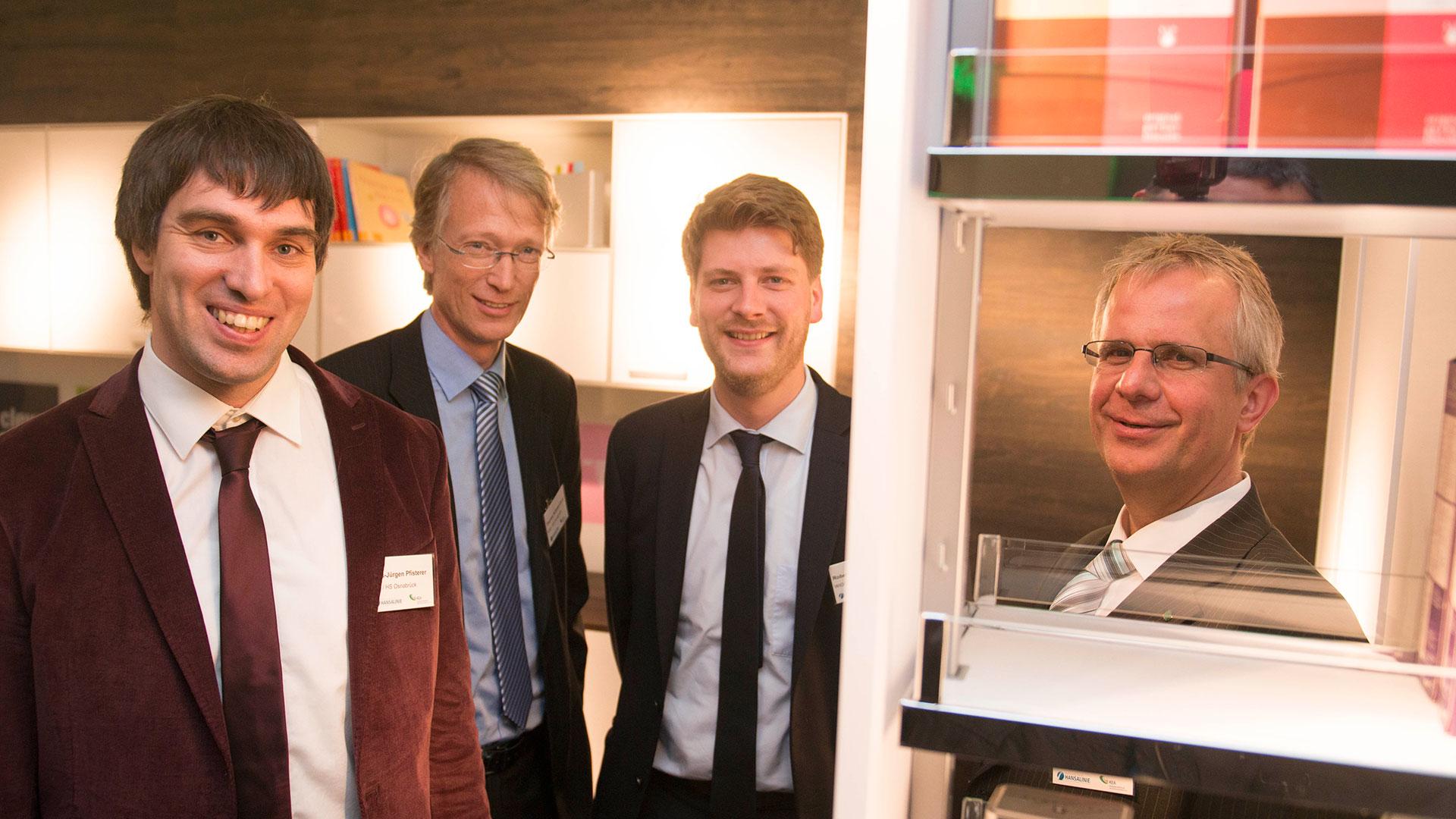 Kompetenzzentrum KEA bietet Unternehmen Technologietransfer – Wachstumsregion Hansalinie besucht Kesseböhmer