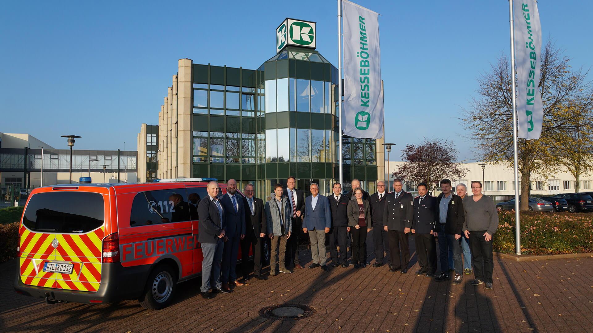 Neues Einsatzfahrzeug in Dahlinghausen