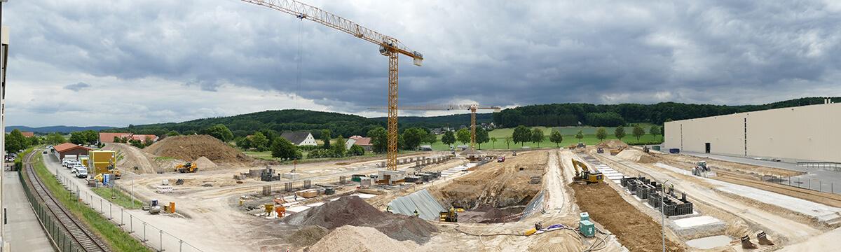 Baustelle Kesseböhmer Dahlinghausen