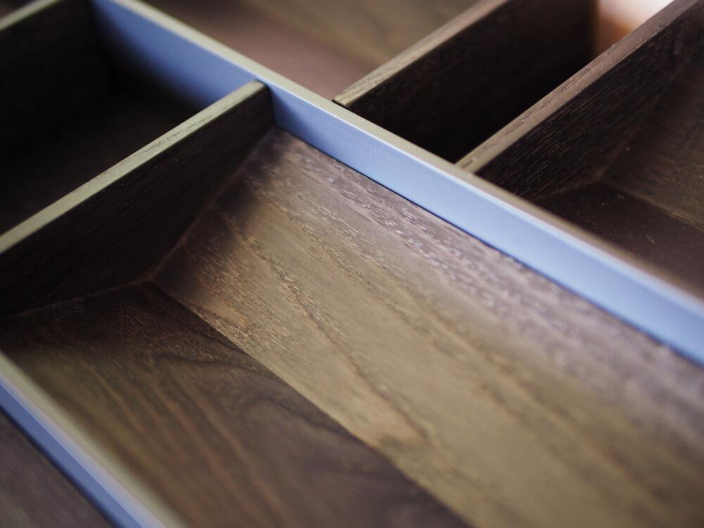 Besteckschalen aus Holz