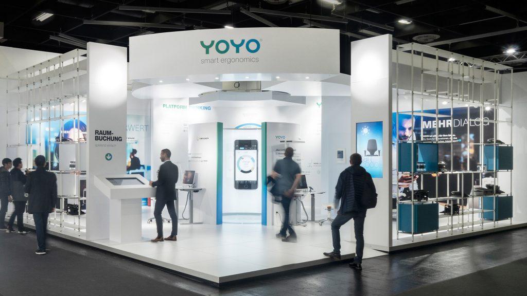 YOYO Messestand Orgatec 2018