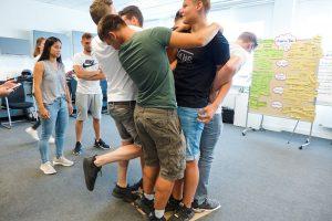 Teambuilding mit Azubis