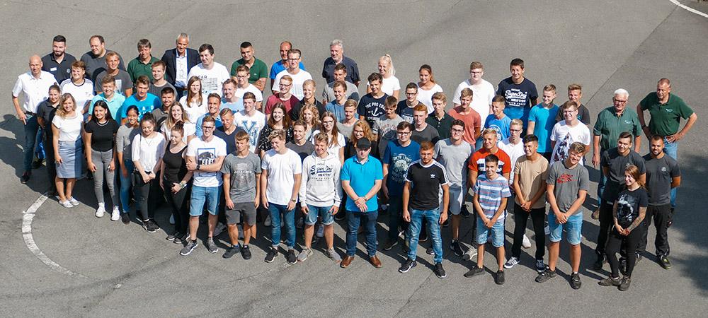 58 neues Auszubildende bei Kesseböhmer