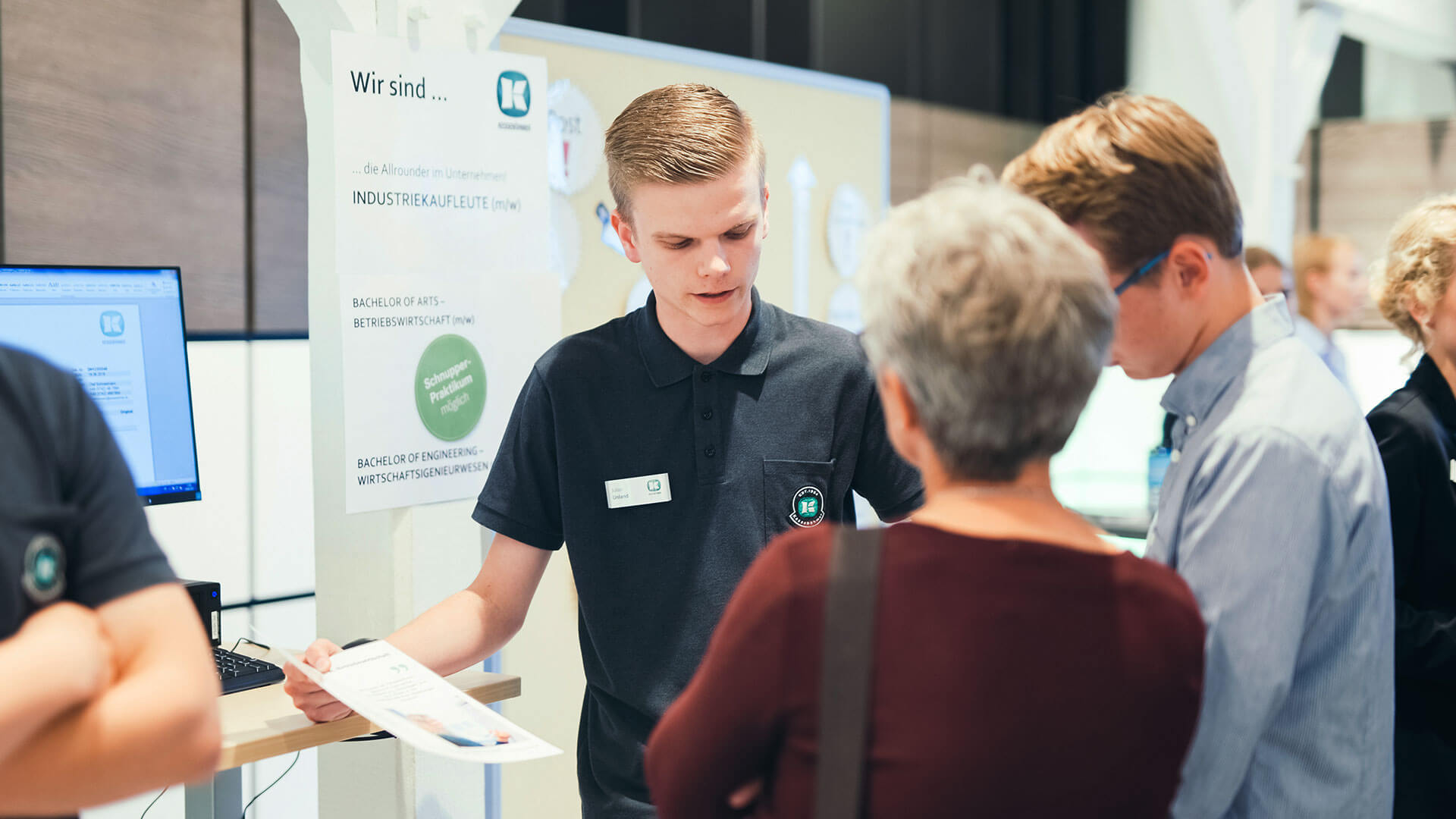 Post-event report: Open evening for prospective trainees at Kesseböhmer