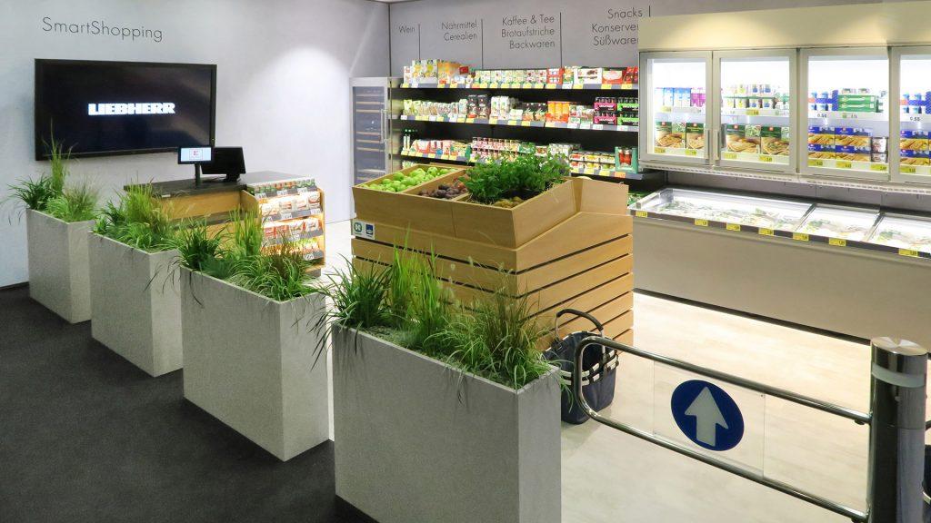 Supermarkt-Nachbau