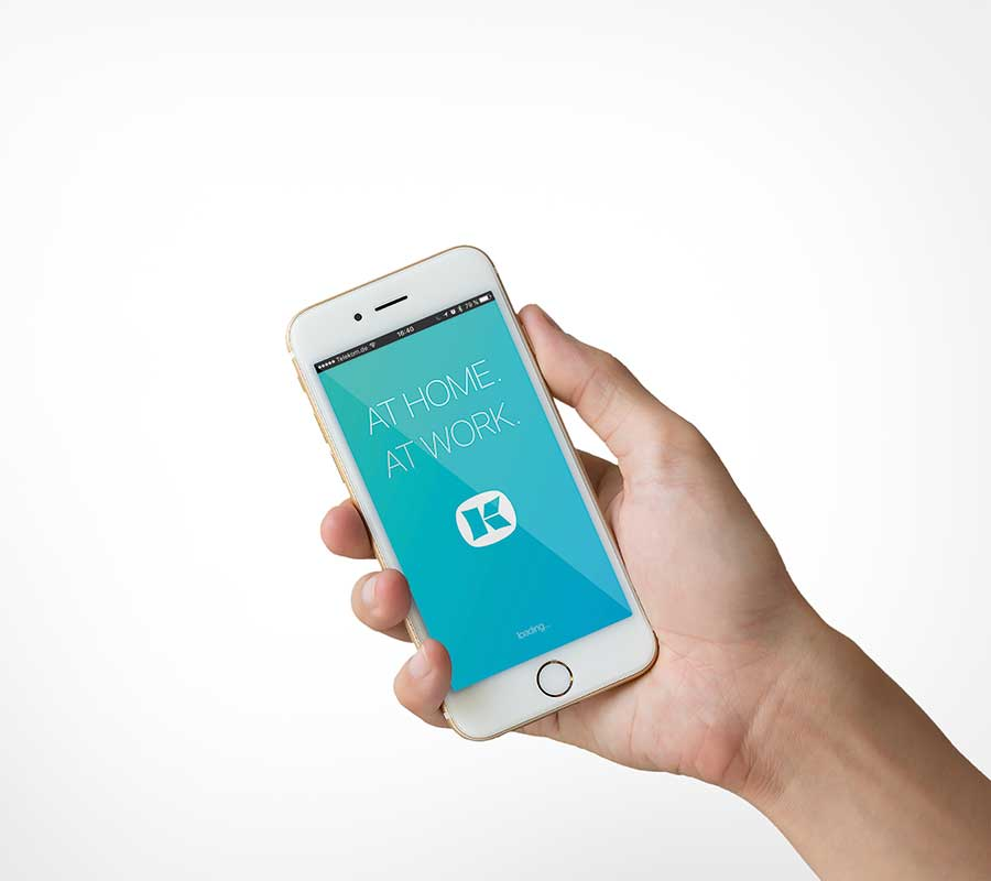 AT HOME. AT WORK: Die intuitive SmartOffice App