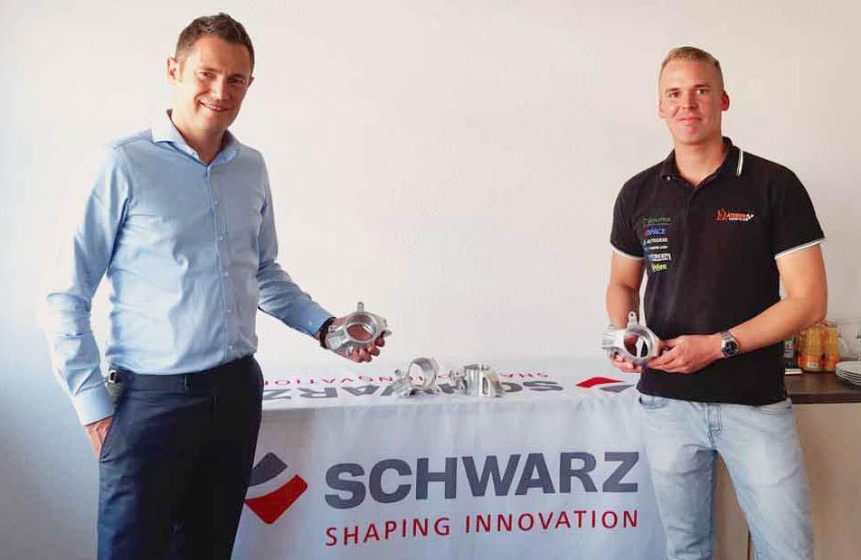 Schwarz Werkzeugbau unterstützt das Athene Racing Team