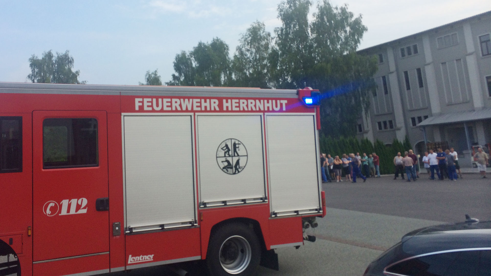 Probealarm bei Krause Metall in Herrnhut