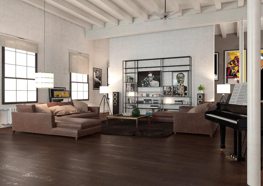 Wohnzimmer-Regal