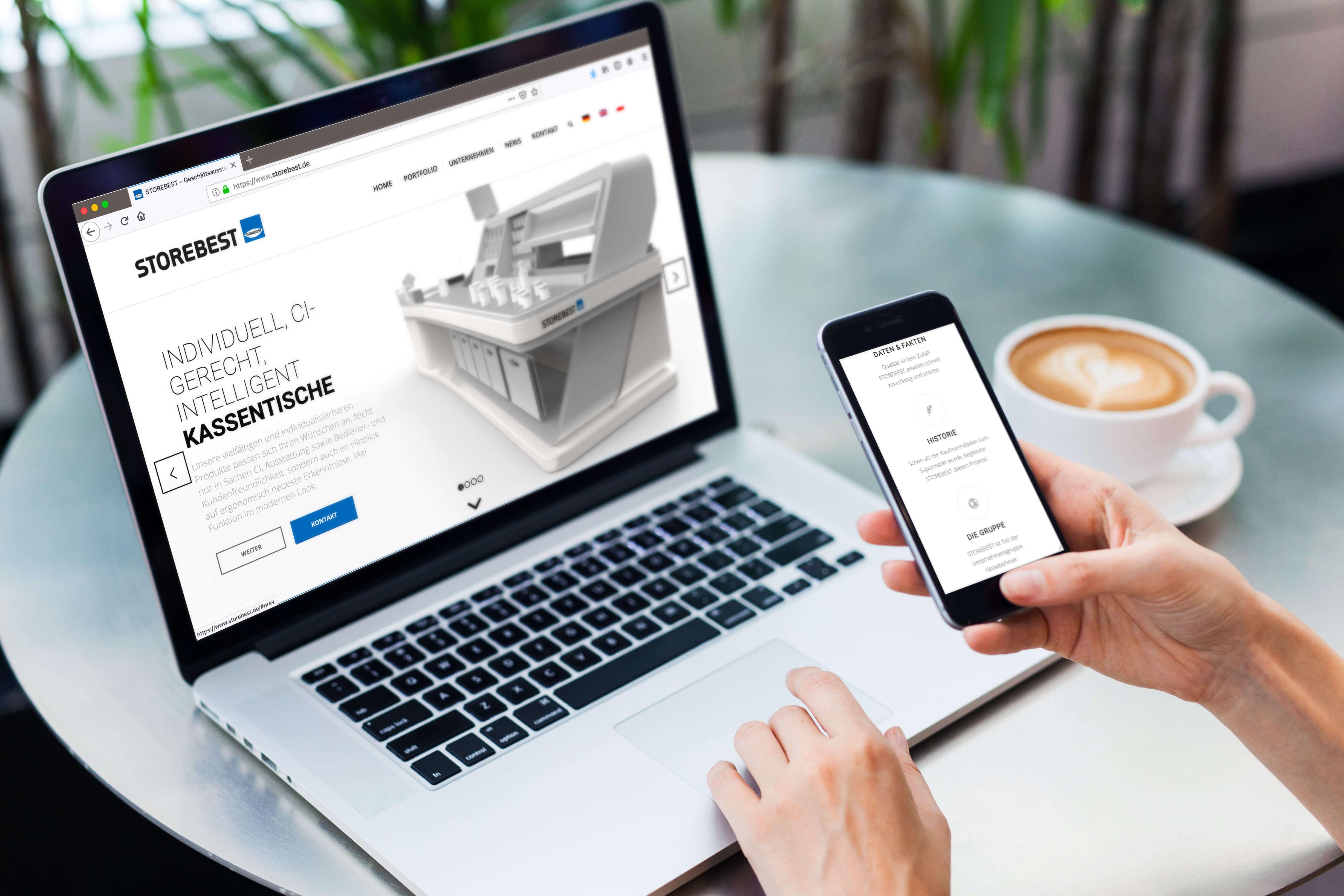 Neue Website für STOREBEST
